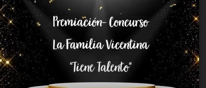 """Premiación """"La familia Vicentina tiene talento"""""""